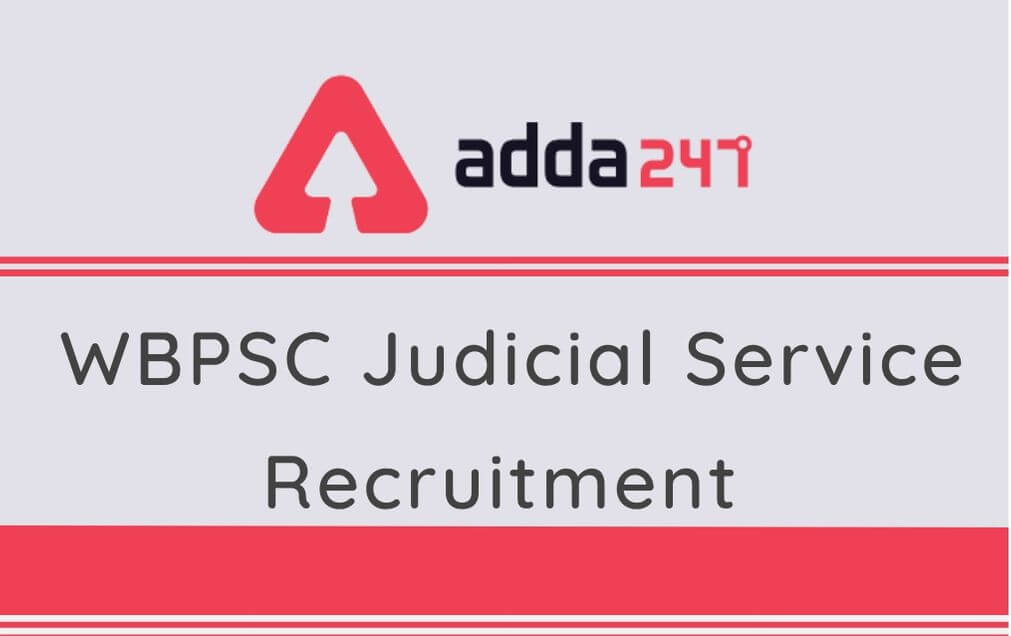 WBPSC Judicial Service Recruitment 2020