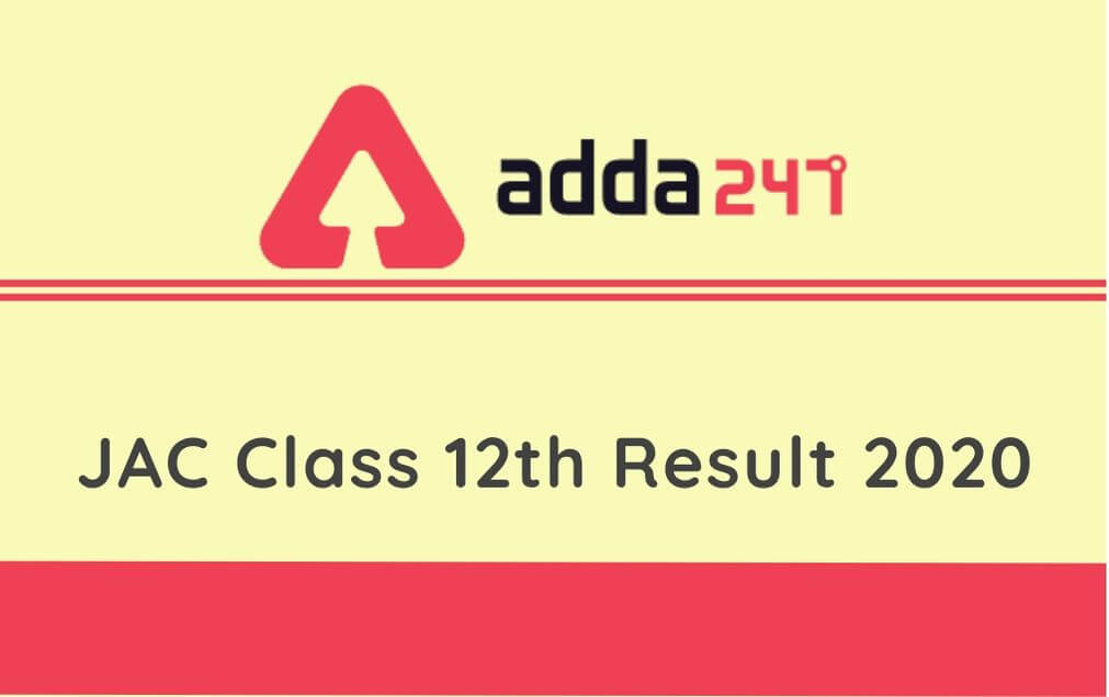 JAC Class 12th Result 2020: