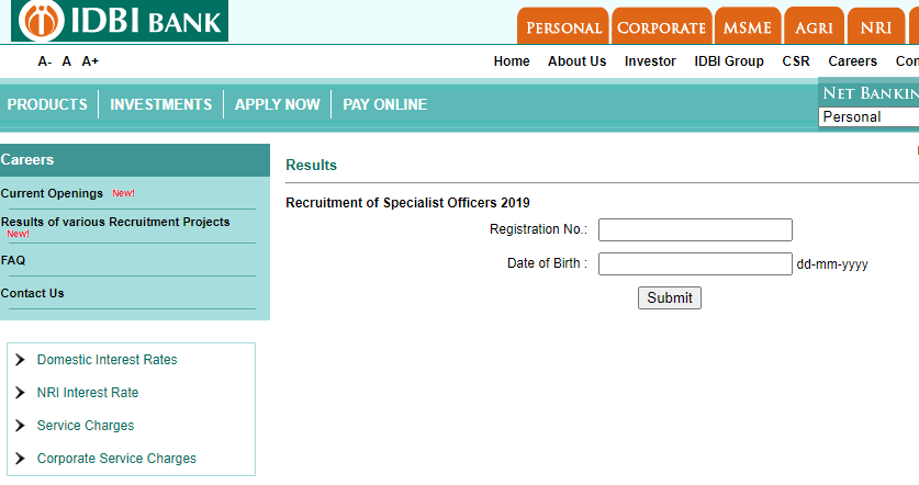 IDBI Bank Interview Result 2020- Agriculture Officers (Grade-B) and Faculty (Grade-D) Out_40.1