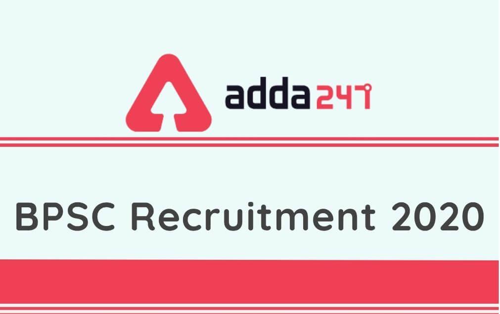 BPSC HOD Recruitment 2020: Apply Online For 36 HOD @bpsc.bih.nic.in_40.1
