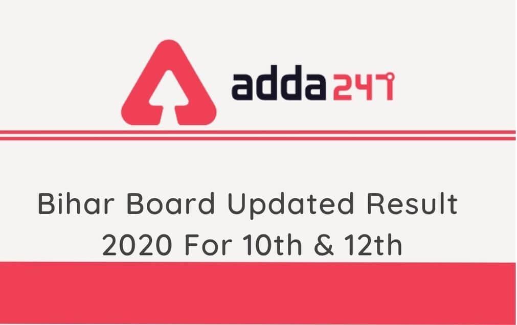 Bihar Board Updated 12th Result, Bihar Board Updated 10th Result Released: Direct Link_40.1