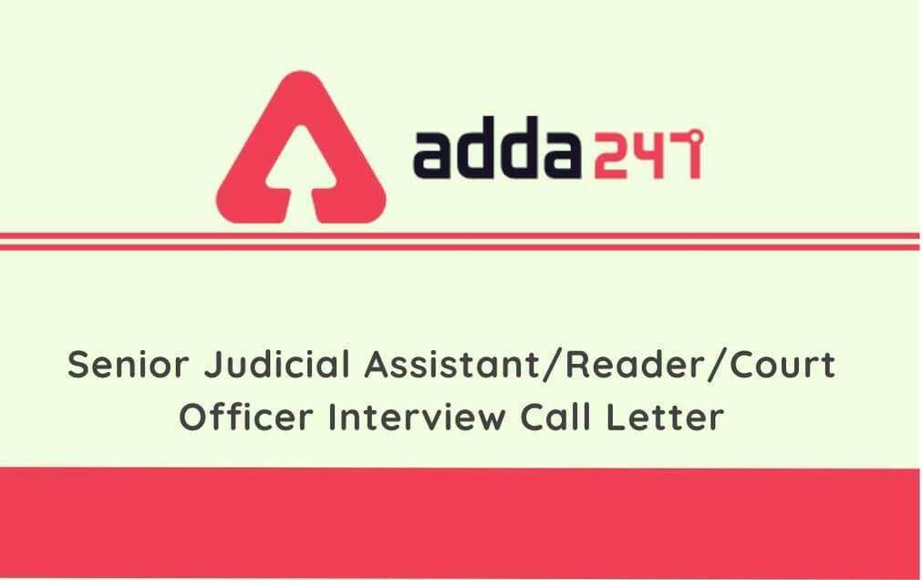 DHC Interview Call Letter 2020: Delhi High Court Senior Judicial Assistant Interview Admit Card_30.1
