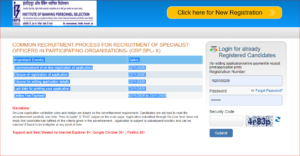 IBPS SO Apply Online 2020: Online Application For 647 SO Posts_50.1