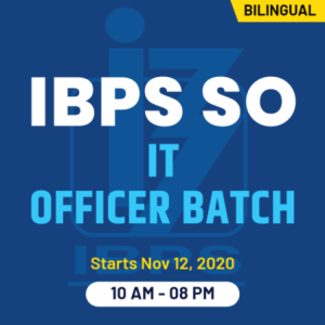 IBPS SO Apply Online 2020: Online Application For 647 SO Posts_60.1
