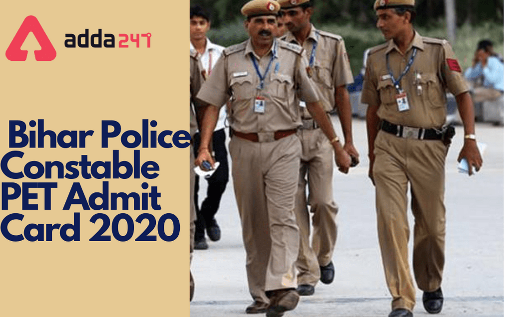Bihar Police Constable PET Call Letter 2020 Out: Download Admit Card_30.1