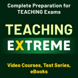 Teaching Extreme