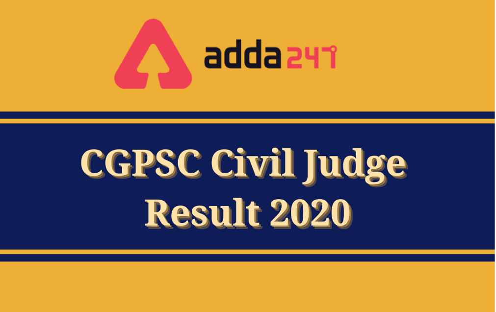 CGPSC Civil Judge Result 2020: Download Prelims Result PDF_30.1