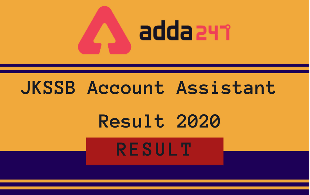 JKSSB Account Assistant Result 2020 Out: Check Panchayat Exam Roll No. Wise Result PDF_30.1