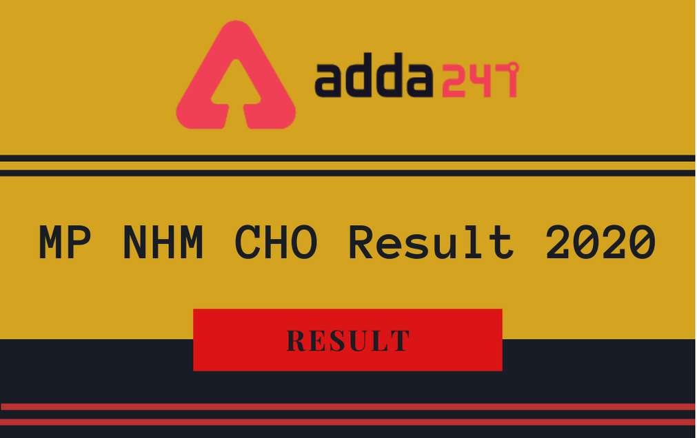 MP NHM CHO Result 2020 Out: Check Community Health Officer Result PDF_30.1