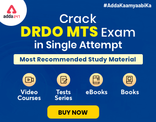 DRDO MTS Study Materials