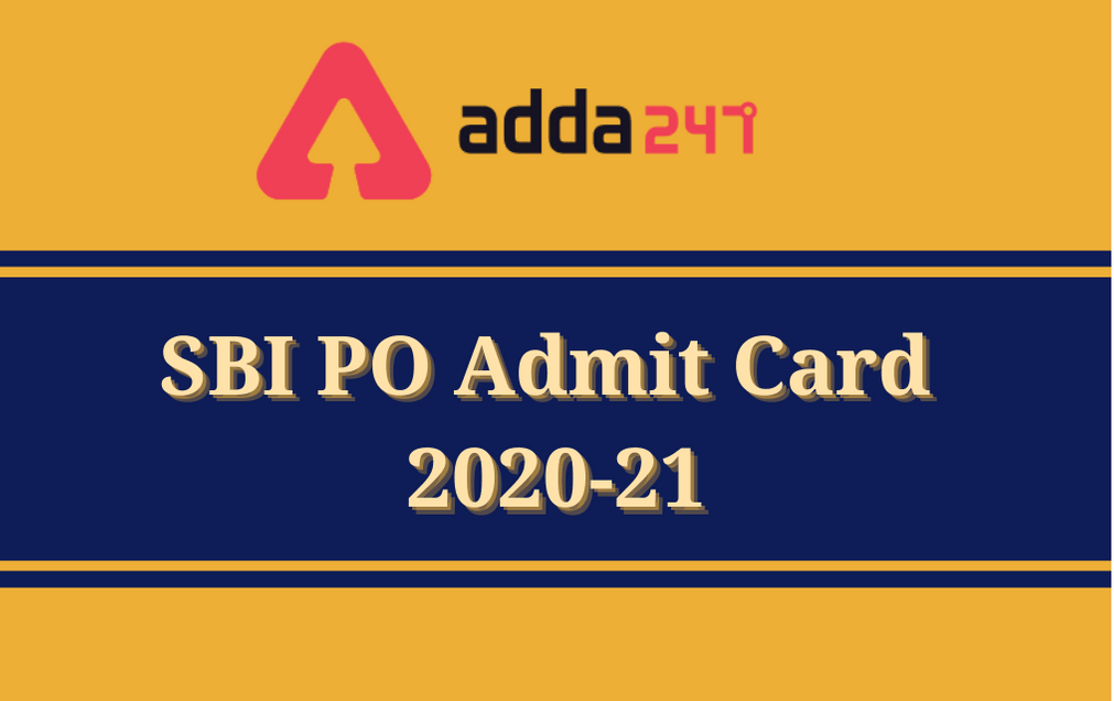 SBI PO Mains Admit Card 2021 Out: Direct Link To Download Admit Card_30.1