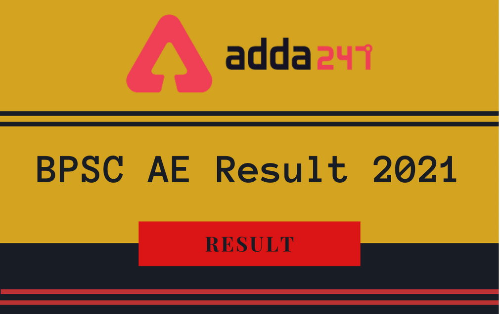 BPSC Assistant Engineer Mains Result 2021 Out: Check AE Civil Mains Result_30.1