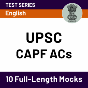 UPSC CPF (AC) Result 2020-21 Out: Direct Link To Download Result_40.1