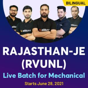 RVUNL JE Admit Card 2021, Checkout direct link to download |_50.1