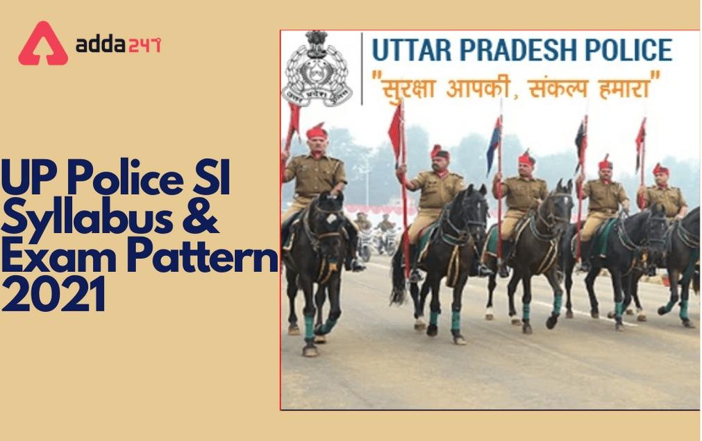 UP SI Syllabus 2021, हिंदी में Exam Pattern and Syllabus_40.1