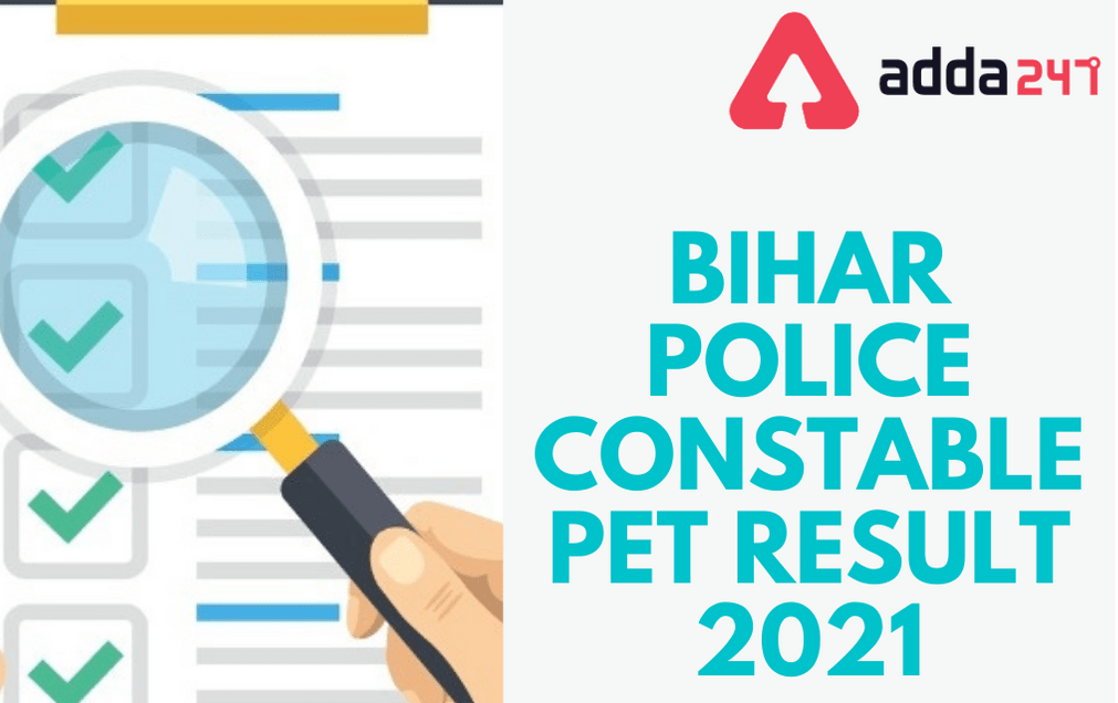 Bihar Police Constable PET Result 2021 Out: Check Constable (Driver) Result PDF_30.1