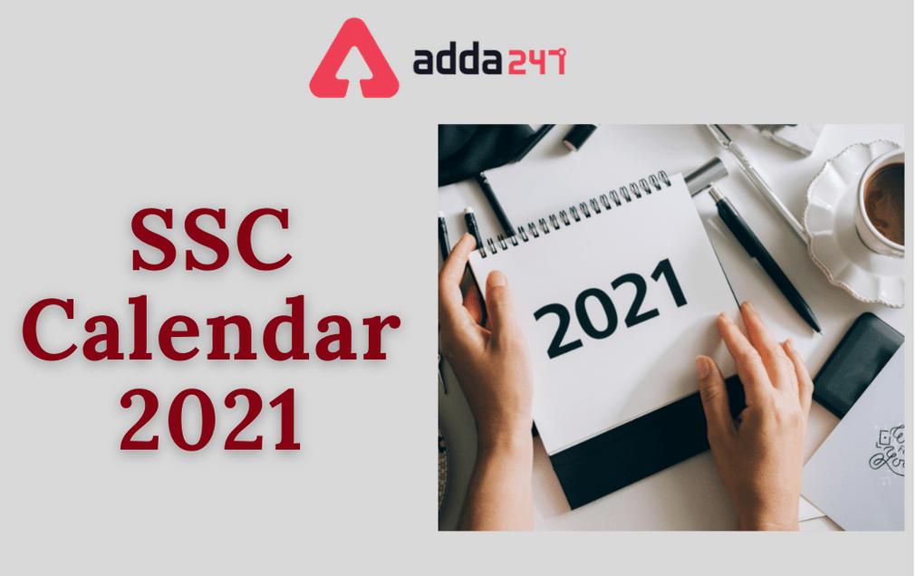 SSC Exam Calendar 2021 Out, Check Exam Date For SSC Exams_60.1