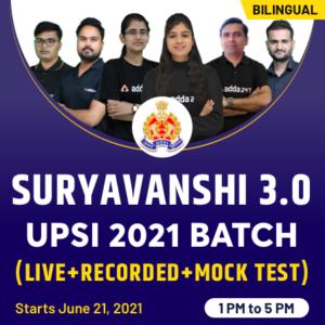 UPSI 2021