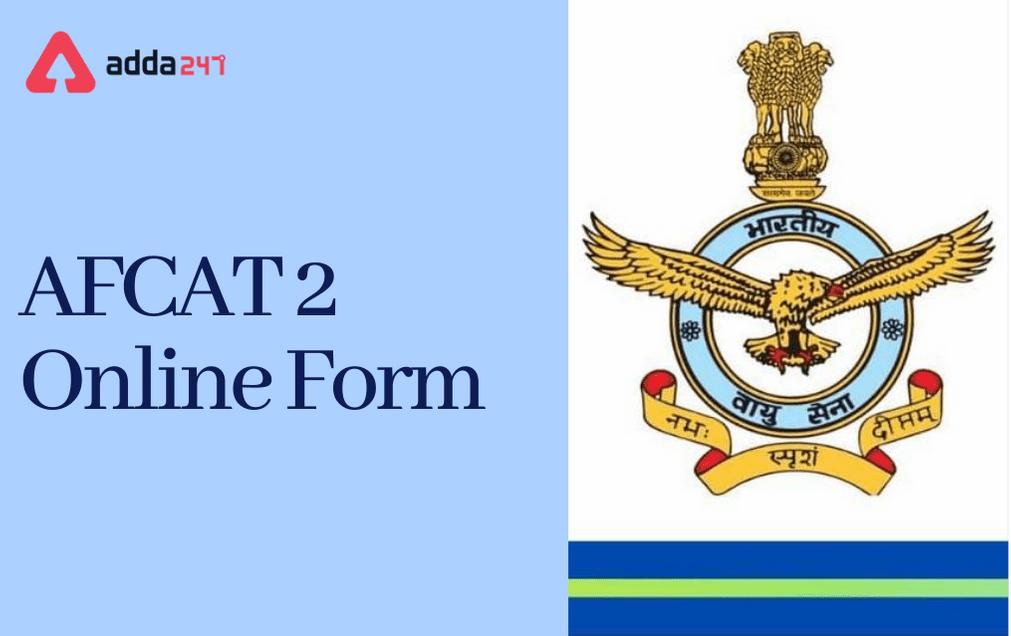 AFCAT Online Form 2021: Apply Online For AFCAT 2 Exam_30.1