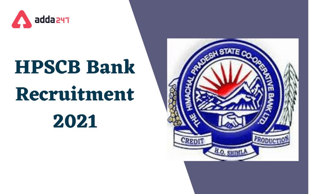 HPSCB Bank Recruitment 2021: Apply For 149 Jr. Clerk & Steno Typist_30.1