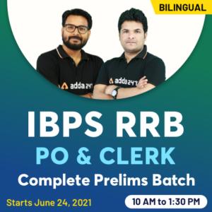 IBPS RRB 2021