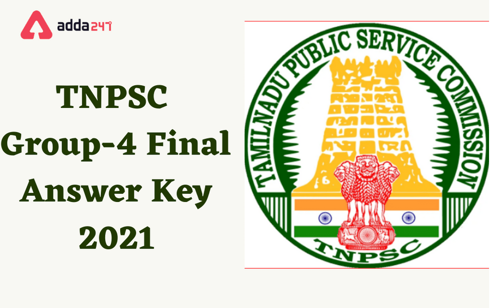TNPSC Group 4 Final Answer Key 2021 Out: Direct Lik To Download_30.1