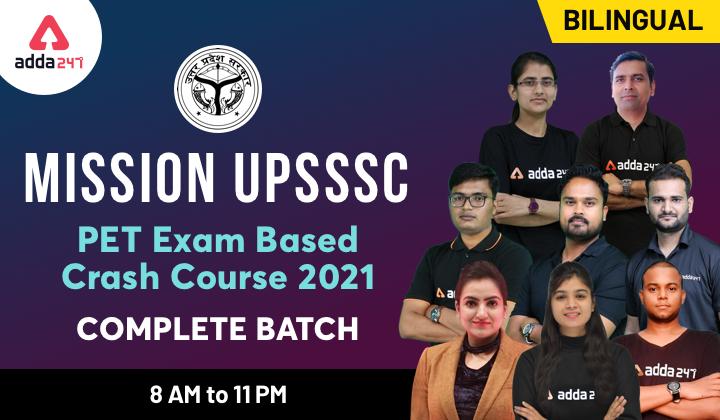 UPSSSC PET 2021: Exam Date Out, Notification, Exam Pattern_60.1