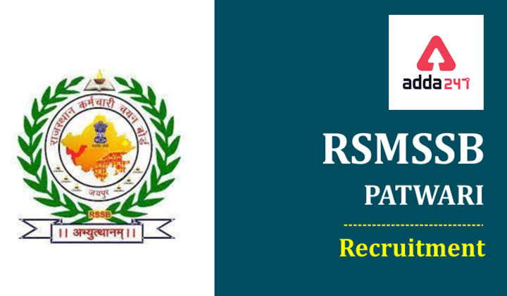 RSMSSB Recruitment 2021 Notification-Apply online 5378 Vacancies_30.1