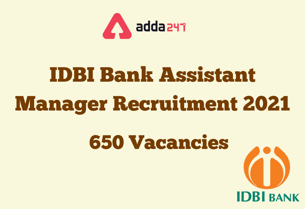 IDBI Assistant Manager Recruitment 2021- Result & Cut-Off Out_40.1
