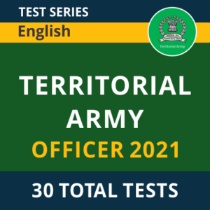 Territorial Army Syllabus and Exam Pattern 2021_50.1