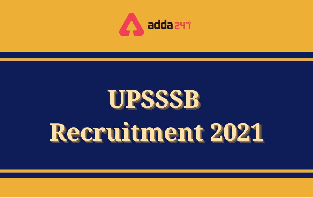 UPSSSB Recruitment 2021, Fake Notification_40.1