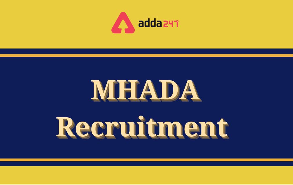 MHADA Recruitment 2021, Apply Online for 565 Vacancies_40.1