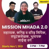 MHADA Recruitment 2021, Apply Online for 565 Vacancies_50.1