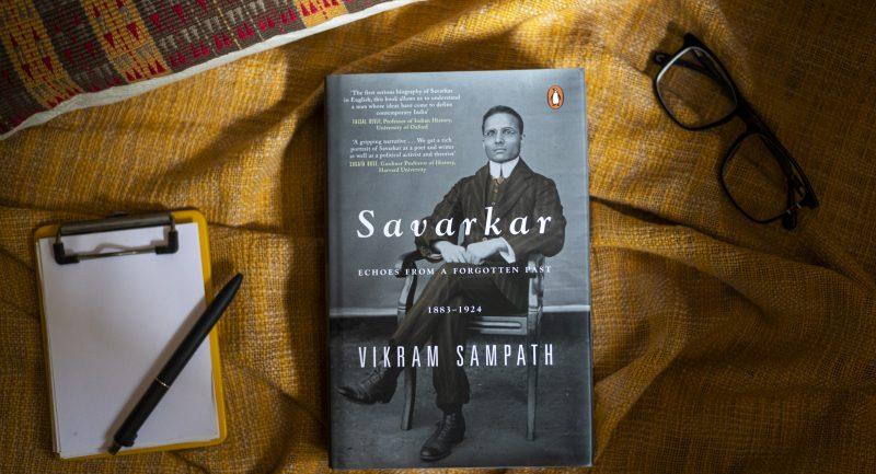 A book title 'Savarkar: A contested Legacy (1924-1966) authored by Vikram Sampath | വിക്രം സമ്പത്ത് രചിച്ച 'സവർക്കർ: എ കോണ്ടെസ്റ്റഡ് ലെഗസി (1924-1966) എന്ന പുസ്തക ശീർഷകം_40.1