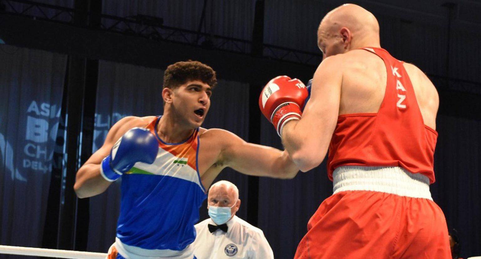 Asian Boxing Championship: India's Sanjeet Kumar wins gold medal | ഏഷ്യൻ ബോക്സിംഗ് ചാമ്പ്യൻഷിപ്പ്: ഇന്ത്യയുടെ സഞ്ജിത് കുമാർ സ്വർണ്ണ മെഡൽ നേടി_40.1
