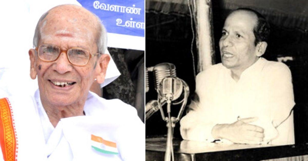 T.M. Kaliannan, last surviving member of Constituent Assembly, passes away | ടി.എം. ഭരണഘടനാ അസംബ്ലിയിലെ അവസാന അംഗമായ കാലിയാനൻ അന്തരിച്ചു_40.1