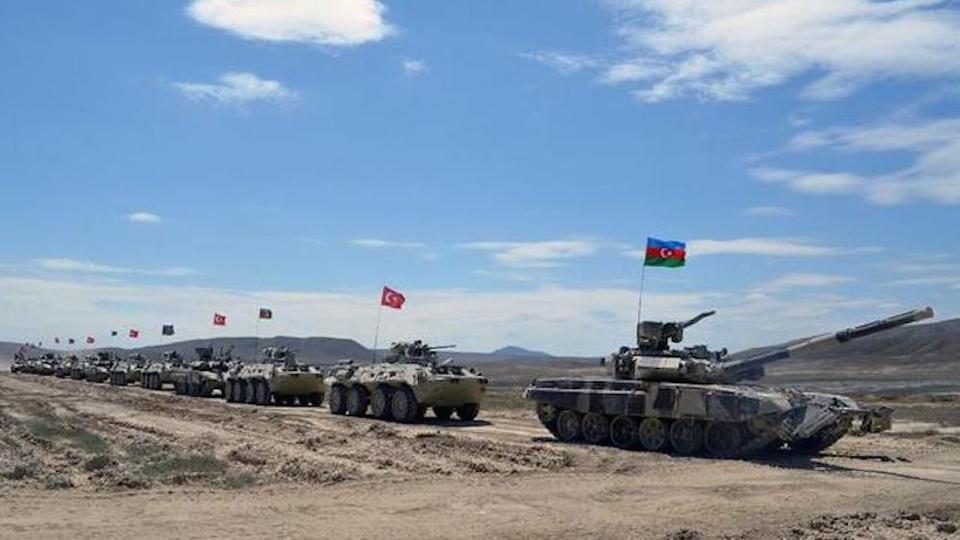 Turkey, Azerbaijan begin joint military drills in Baku| തുർക്കി, അസർബൈജാൻ ബാക്കുവിൽ സംയുക്ത സൈനികാഭ്യാസം ആരംഭിക്കുന്നു_40.1