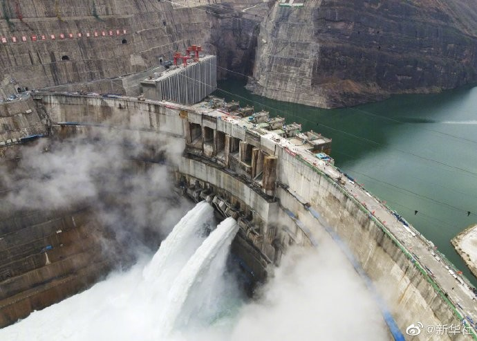 China turns on world's 2nd-biggest hydropower dam| ലോകത്തിലെ രണ്ടാമത്തെ വലിയ ജലവൈദ്യുത അണക്കെട്ട് ചൈന ഓണാക്കുന്നു_40.1