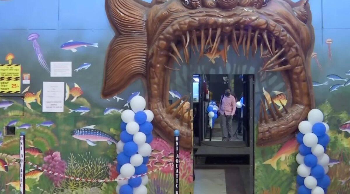 India's first movable freshwater tunnel aquarium installed at Bengaluru Station| ഇന്ത്യയിലെ ആദ്യത്തെ ചലിക്കുന്ന ശുദ്ധജല തുരങ്ക അക്വേറിയം ബെംഗളൂരു സ്റ്റേഷനിൽ സ്ഥാപിച്ചു_40.1