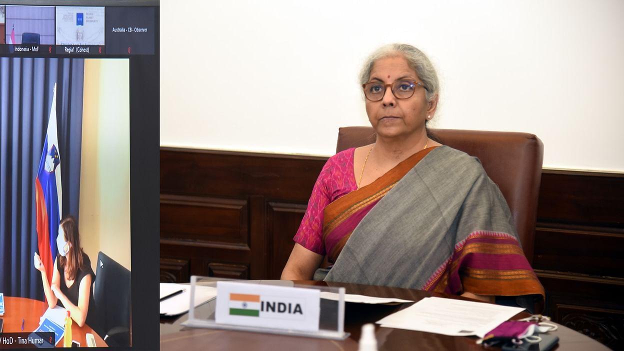 Nirmala Sitharaman attends 3rd G20 finance ministers meeting  മൂന്നാം ജി 20 ധനമന്ത്രിമാരുടെ യോഗത്തിൽ നിർമ്മല സീതാരാമൻ പങ്കെടുക്കുന്നു_40.1