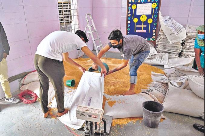 India's first 'Grain ATM' open in Gurugram| ഇന്ത്യയിലെ ആദ്യത്തെ 'ഗ്രെയിൻ എടിഎം' ഗുരുഗ്രാമിൽ തുറന്നു_40.1