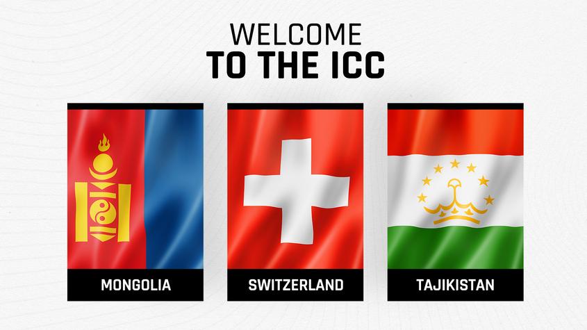 ICC welcomes Mongolia, Tajikistan and Switzerland as new members| മംഗോളിയ, താജിക്കിസ്ഥാൻ, സ്വിറ്റ്സർലൻഡ് എന്നിവരെ പുതിയ അംഗങ്ങളായി ICC സ്വാഗതം ചെയ്യുന്നു_40.1