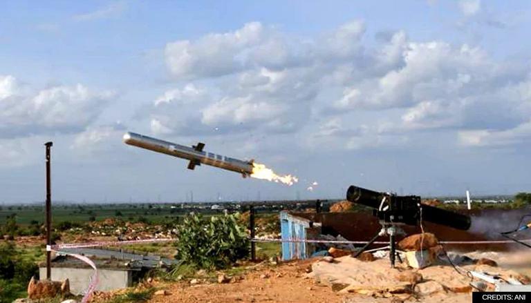 DRDO successfully flight-tests indigenously developed MPATGM|തദ്ദേശീയമായി വികസിപ്പിച്ച MPATGM DRDO വിജയകരമായി ഫ്ലൈറ്റ്-ടെസ്റ്റുകൾ നടത്തുന്നു_40.1