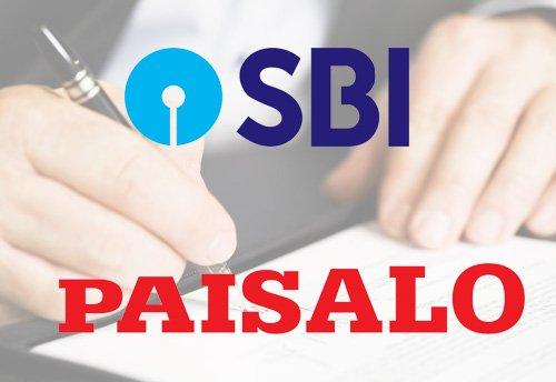 SBI selects Paisalo as its National Corporate Business Correspondent  SBI അതിന്റെ ദേശീയ കോർപ്പറേറ്റ് ബിസിനസ് കറസ്പോണ്ടന്റായി പൈസലോയെ തിരഞ്ഞെടുക്കുന്നു_40.1
