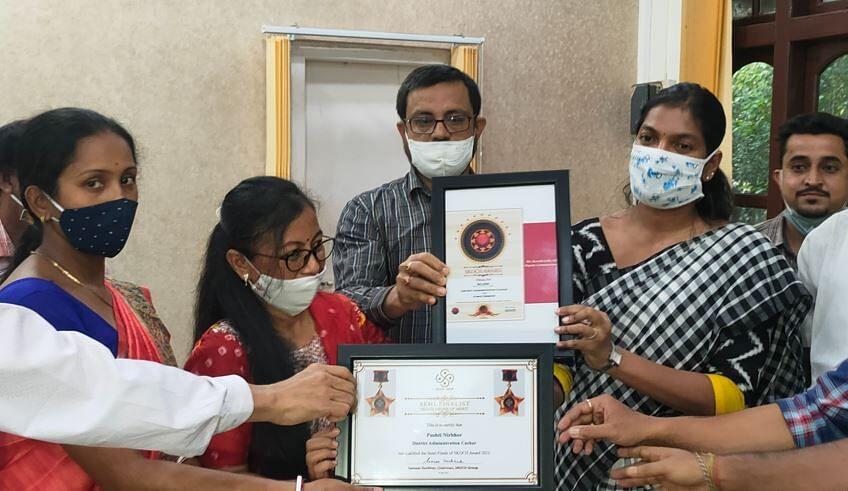 Cachar district received National Silver SKOCH award| കാച്ചർ ജില്ലയ്ക്ക് ദേശീയ വെള്ളി SKOCH അവാർഡ് ലഭിച്ചു_40.1