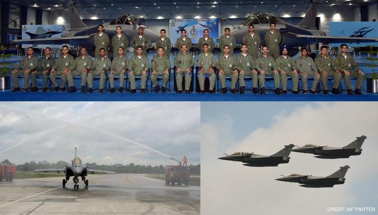 IAF inducts 2nd squadron of Rafale aircraft at West Bengal's Hasimara| പശ്ചിമ ബംഗാളിലെ ഹസിമാറയിൽ റഫേൽ വിമാനത്തിന്റെ രണ്ടാം സ്ക്വാഡ്രൺ IAF അവതരിപ്പിച്ചു_40.1