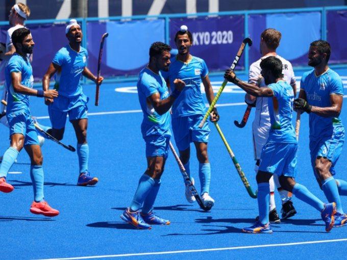 India wins bronze in men's hockey, beat Germany 5-4  പുരുഷ ഹോക്കിയിൽ ജർമ്മനിയെ 5-4 ന് തോൽപ്പിച്ച് ഇന്ത്യ വെങ്കലം നേടി_40.1