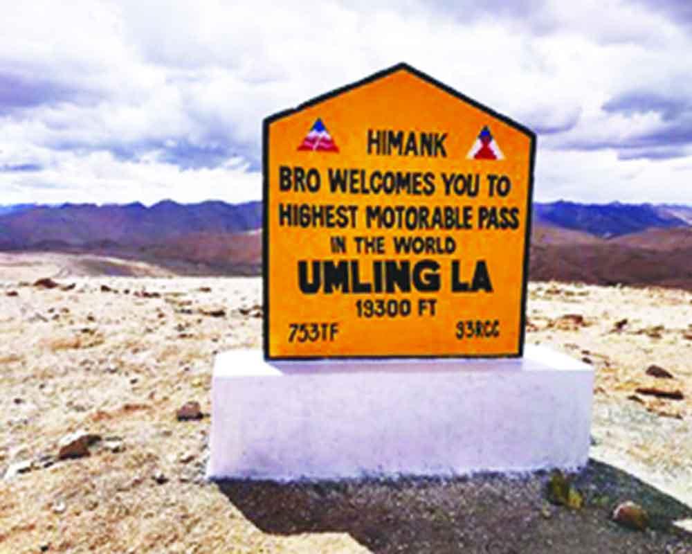 BRO builds world's highest road in Ladakh at 19,300 feet| ലഡാക്കിൽ 19,300 അടി ഉയരമുള്ള ലോകത്തിലെ ഏറ്റവും ഉയരം കൂടിയ റോഡ് BRO നിർമ്മിച്ചു_40.1