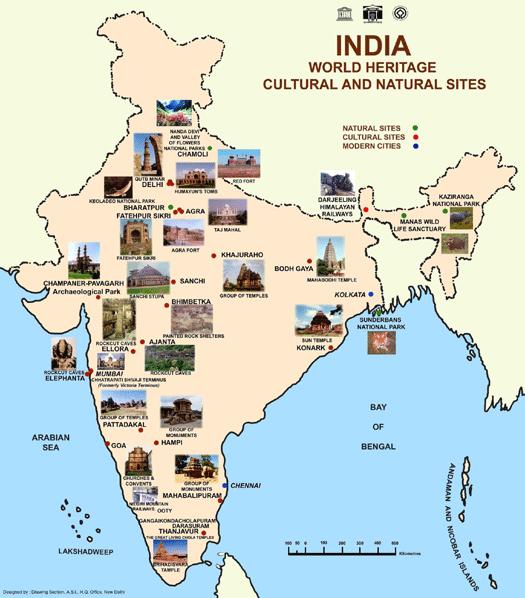 UNESCO World Heritage Sites in India|ഇന്ത്യയിലെ UNESCO ലോക പൈതൃക സ്ഥലങ്ങൾ_50.1
