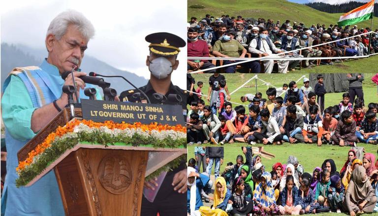 "LG Manoj Sinha inaugurates ""Bungus Awaam Mela"" in J&K| എൽജി മനോജ് സിൻഹ ജമ്മു കാശ്മീരിൽ ""ബങ്കസ് അവാം മേള"" ഉദ്ഘാടനം ചെയ്യുന്നു_40.1"